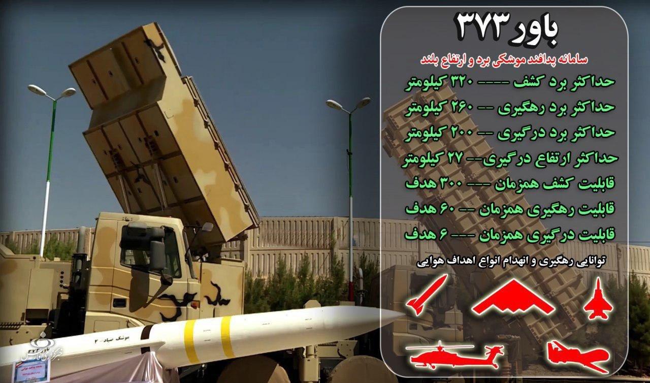سامانه پدافندی «باور۳۷۳»؛ پیچیدهترین پروژه دفاعی تاریخ ایران