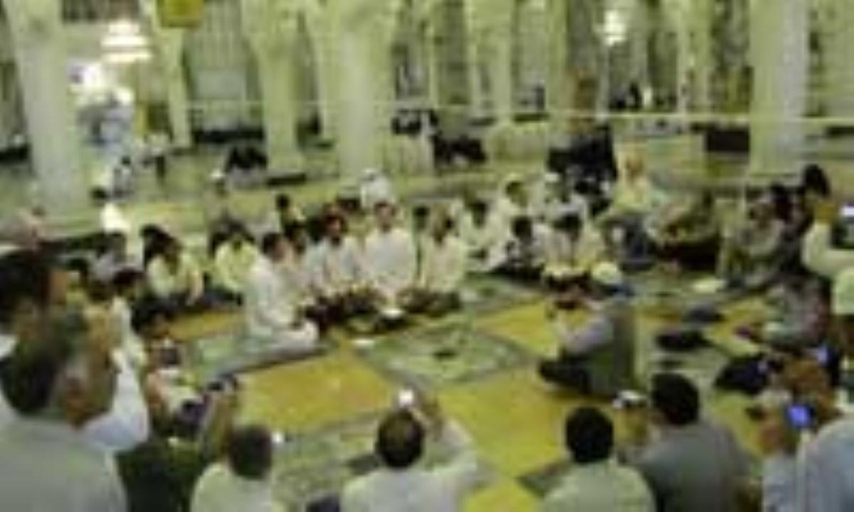 گزارش تصویری/قرائت قرآن زائران ایرانی در مسجد الحرام