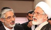 کیهان خبر داد: موسوی و کروبی به درخواست چه کسی در حصر قرار گرفتند؟