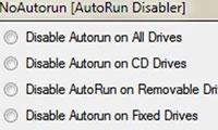 غیر فعال کردن اتوران با AutoRun Disabler v1.0