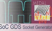 طراحی و ساخت مدارات میکروسکوپی با امکانات تست Dolphin Integration SoC GDS v6.7.1