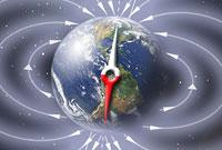 خاصیت مغناطیسی کره ی زمین