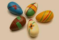 تخم مرغهاي رنگي سفره هفت سين