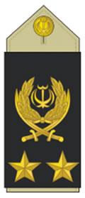 درجه های نظامی ایران