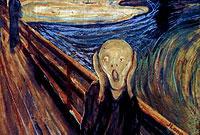 تابلوی جیغ.اثر ادوارد مونش