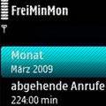 نمایش اطلاعاتی از تماسهاFreiMinMon