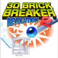 بازي  تمام سه بعدي جاوا Brick Breaker Revolution