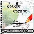 بازی مهیج و جاوای Doodle Escape