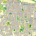 نقشه شهر بيرجند-خراسان جنوبي-جاوا