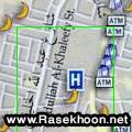 نقشه شهر مکه