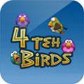 بازی فکری اندروید چهار پرنده 4 Teh Birds
