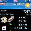 مشاهده اب وهوا با  Weather v1.22