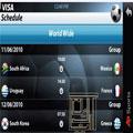 جدول رده بندی جام جهانی 2010 برای گوشیهای لمسی
