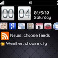 تغییرات اساسی و زیبا در دسکتاپ گوشی  vHome v3.63c