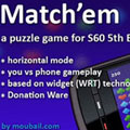 بازی لمسی Match'em v1.0 S60v5 An addictive puzzle