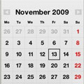 نوشتن يادداشت باOffScreen Wall Calendar Touch v1.0
