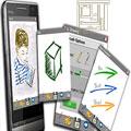 نقاشی مخصوص گوشیهای پاکت پی سی DynaInk 1.0