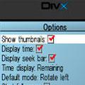 پخش فایلهای ویدئویی و صوتی DivX Mobile Player v0.