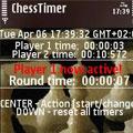 مشاهده زمان در طول بازی شطرنج ChessTimer 1.0
