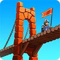 پل سازی قرون وسطی Bridge Constructor Medieval v3.4 - نسخه معمولی و مود شده