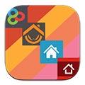 پوسته iOS7 با Flat iOS 7 Go Apex Nova Theme v1.1.0