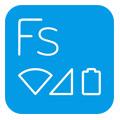 تغییر آیکن های استاتوس بار  Flat Style Bar Indicators v1.4