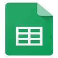 برنامه گوگل شیتز Google Sheets 1.18.052.05.46