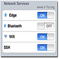 Network Services - آیفون