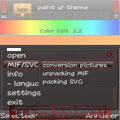 ویرایش قسمت های مختلف تم داخل گوشی ColorEdit v2.2