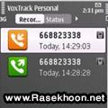 ضبط تمامی تماس ها  VoxTrack Personal v1.30