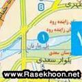 نقشه جاوای اصفهان