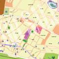 نقشه شهر زنجان-جاوا