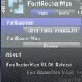 Font Router Man v1.06