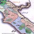 نقشه استان ايلام-جاوا