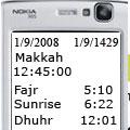 تعیین قبله و پخش اذان IslamicFinder Mobile Athan