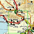 Iran Roads Map