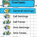 تغییر خودکار زنگ توسط FreeTones 1.12 برای گوشی شما
