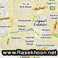 نقشه اصفهان 91
