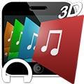 پلیر سه بعدی iSense Music - 3D Music Player v2.002s