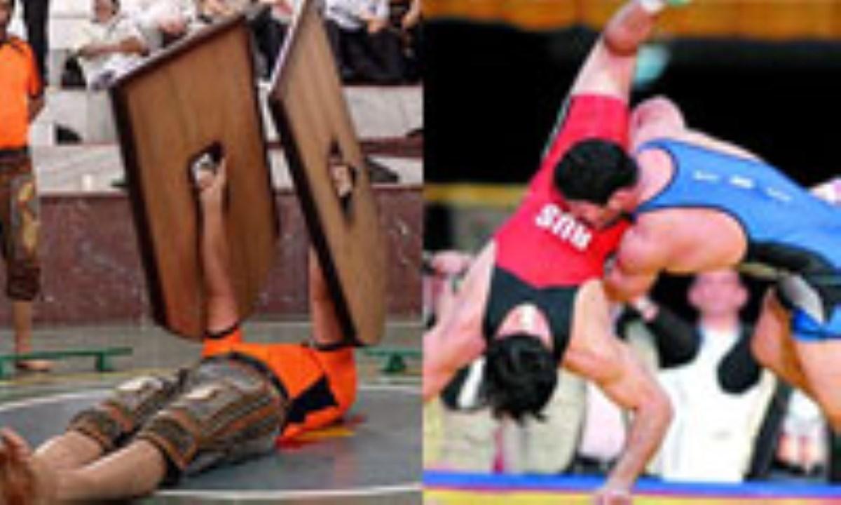 ورزش قهرمانی، ورزش پهلوانی