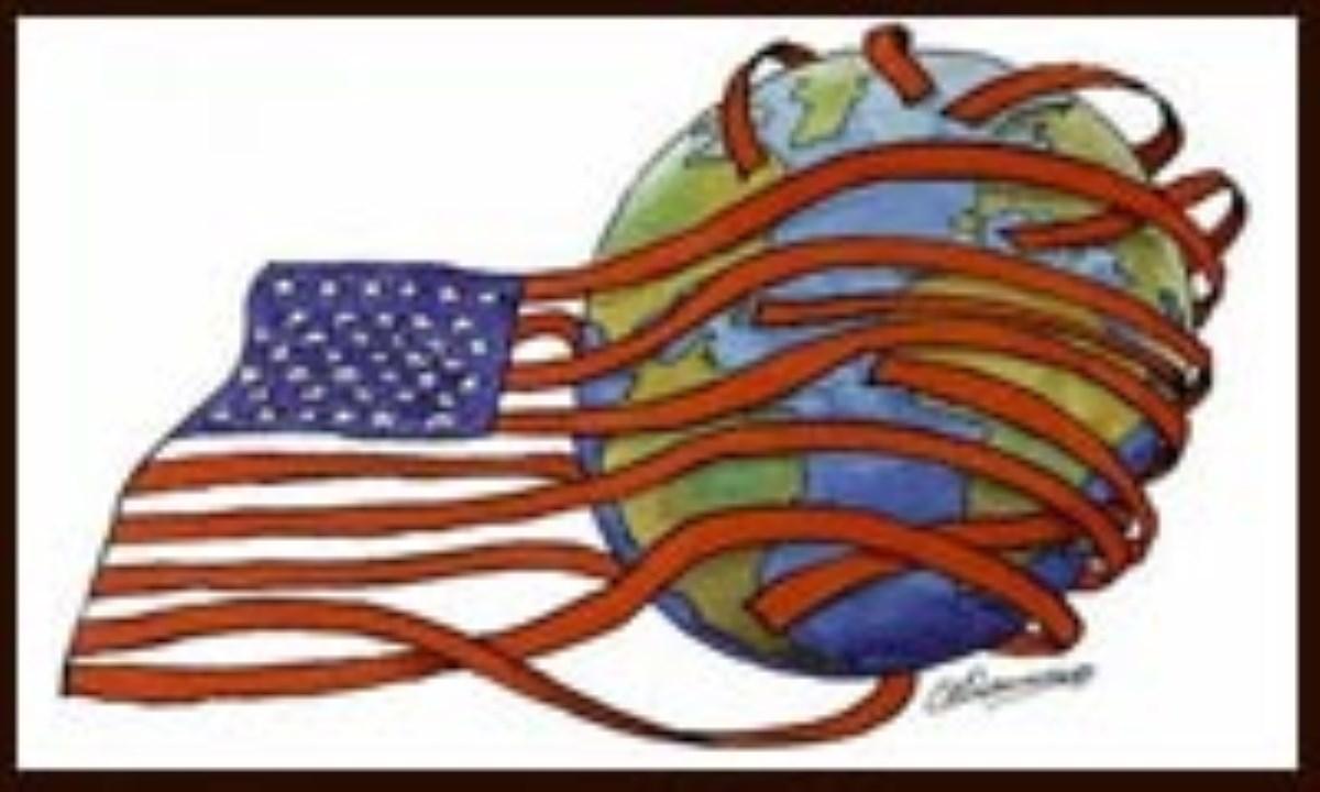 ایالات متّحده مستعمرهی اسرائیل