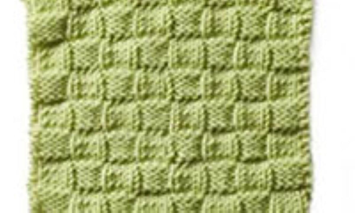 مدل بافت Simple Basket weave