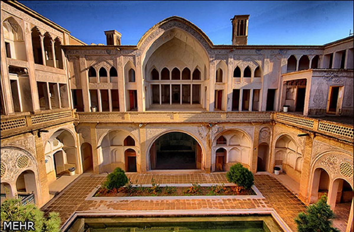 خانه تاریخی عباسیان یکی از بی نظیرترین جاذبه های گردش گری کاشان