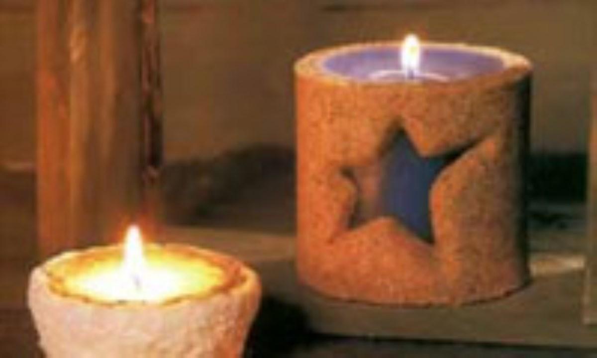 Sand candle شمع شني