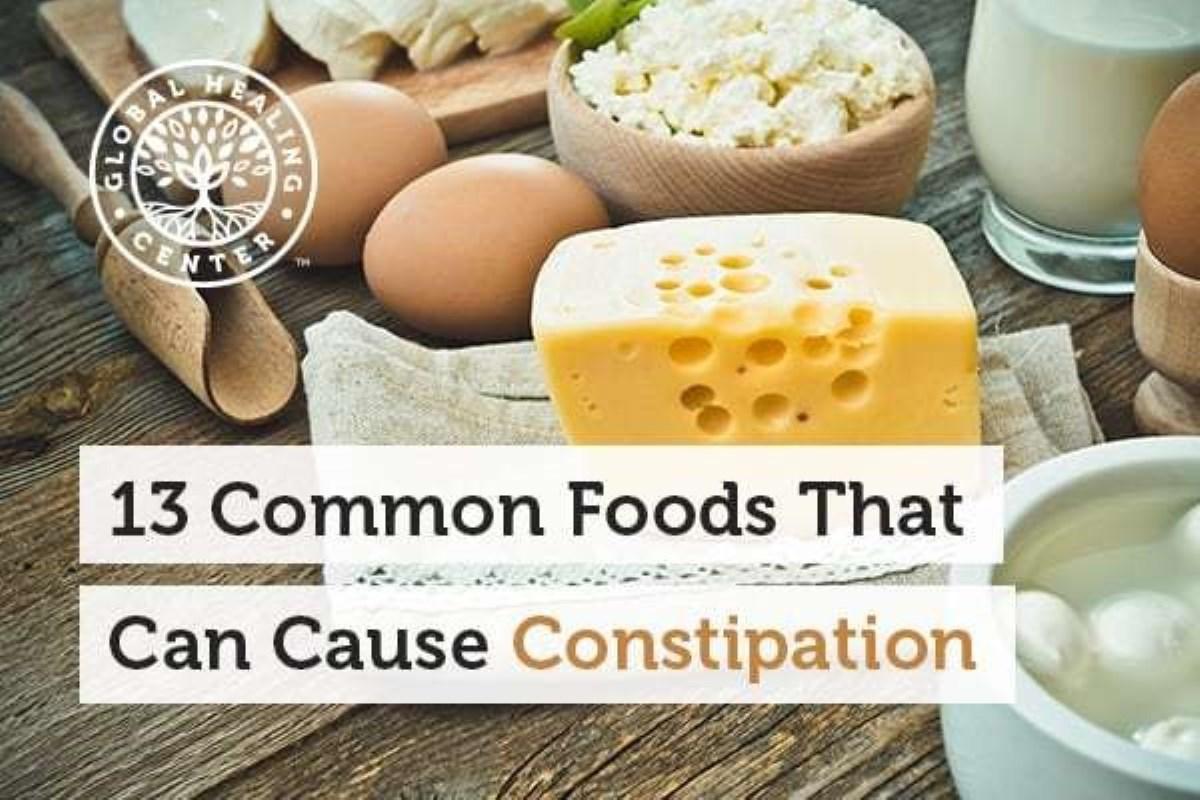 غذای های رایج که می تواند باعث یبوست شود