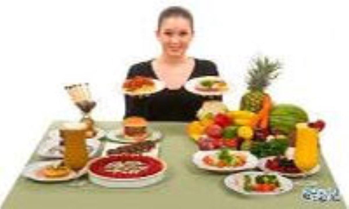 غذاهای پر کالری سالم