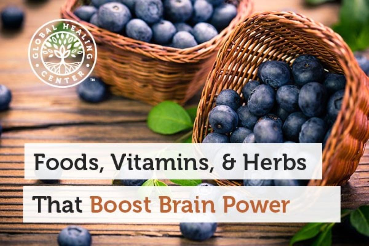 غذاها، ویتامین ها و گیاهانی که قدرت مغز شما را تقویت می کنند
