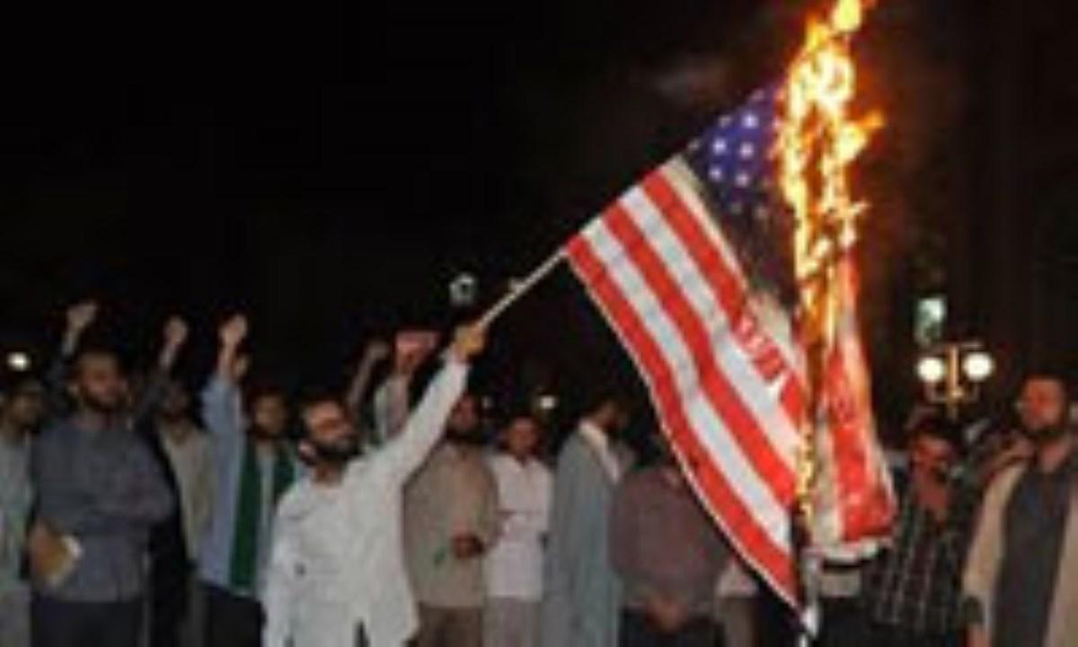 چرا مسلمین در مقابل آمریکا فریاد نمیکشند