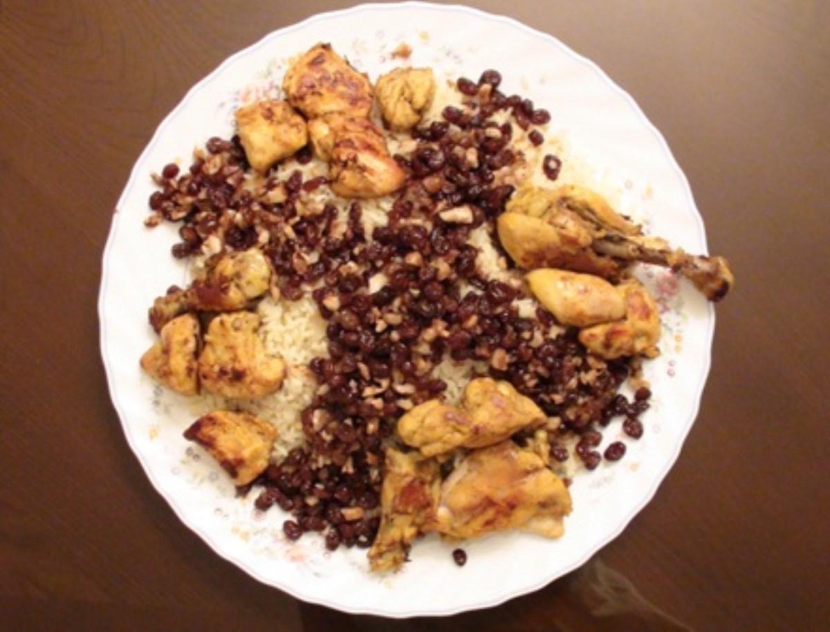 طرز تهیه غذای ملل  پلوی بحرینی