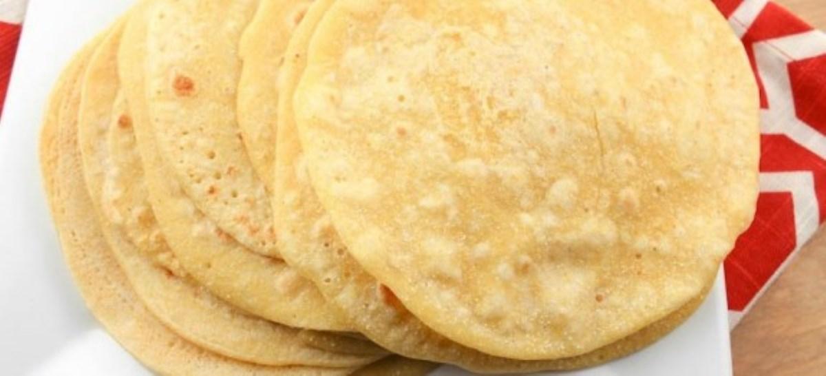 طرز تهیه غذای ملل نان ترتیلا